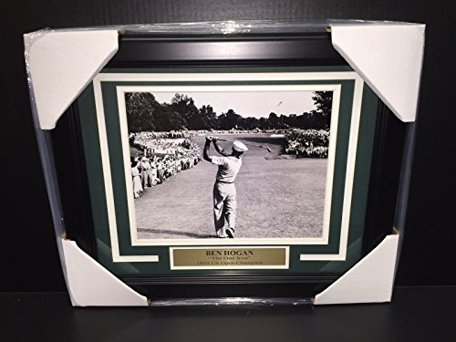BEN HOGAN FAMOUS 1 ONE IRON SHOT 1950 US OPEN CHAMPION FRAMED 8X10 PHOTO