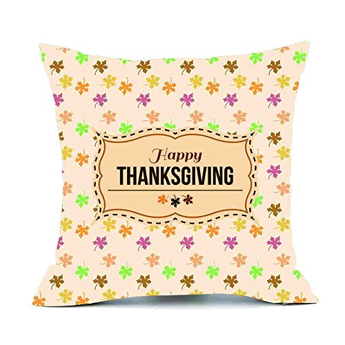 - CUCUHAM Thanksgiving Rectangle Cover Decor Pillow Case Sofa Waist Throw Cushion Cover C