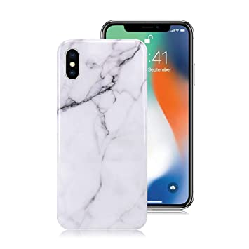 coque iphone x motif marbre