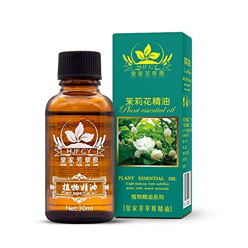 LiPing 30ml Fragrance Natural And Pure Premium Plant Oil Promote Deep Sleep-Natural Essential Oils Aromatherapy Scent Skin Care- Relieve Stress Scent Skin Care (C:Jasmine) from LiPing