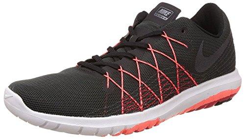 NIKE Men's Flex Fury 2 Running Shoe Black/Metallic Hmtt/University Red/Ttl C clearance footaction 1YB2YLs2
