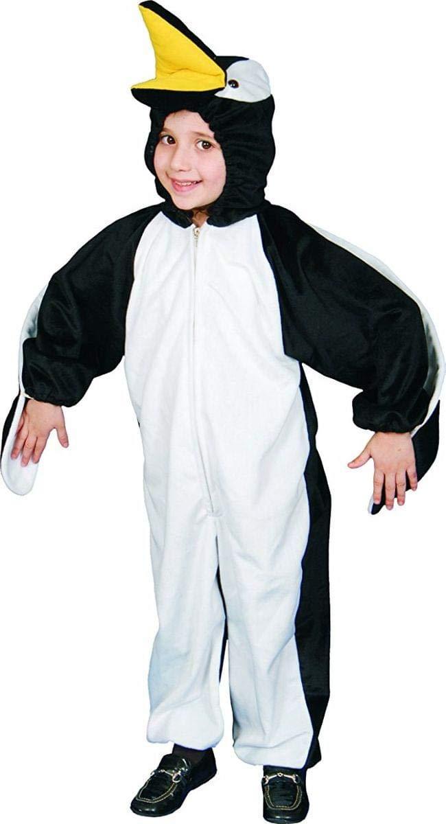 MultiCouleure M 8-10ans (Tour  76-81cm, taille 115-127cm) Robe Up America Costume de combinaison de pingouin adulte