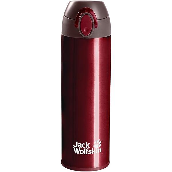 18 oz Jack Wolfskin Thermolite Bottle Dark Red
