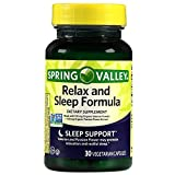 Spring Valley Relax & Sleep Formula, 30 Ct