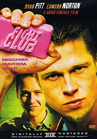 fight club dvd  : Fight Club (single): Edward Norton, Brad Pitt, Helena ...