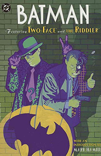 Batman: Featuring Two-Face and The Riddler #TPB 1 VF/NM ; DC comic book