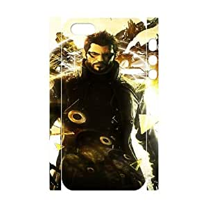 deus e human revolution game iphone 5 5s Cell Phone Case 3D White yyfD-353770