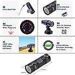 Mini-Videocamera-SportivaFull-HD-1080P-DV-Portatile-Telecamera-120Obiettivo-GrandangolareUSB-20-InterfacciaSupporta-la-Scheda-TF-ad-Alta-CapacitaImpermeabile-Camera-per-Bici-da-Auto-Sportiva