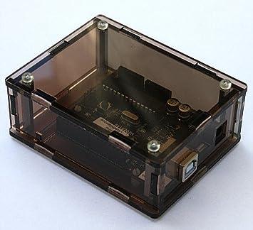Carcasa caja para Arduino de humo de plexiglás de desarrollo, diseño, fabricado en Alemania: Amazon.es: Electrónica