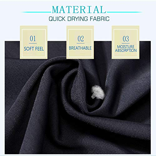 Neck Gaiter Face Mask Scarf Dust Cover for Men Women Windproof Sun Protection Breathable Fishing Hiking Running Cycling Washable Reusable Black 2 Pack