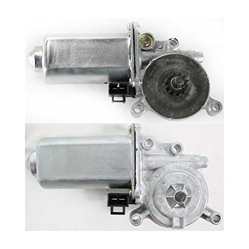 Window Motor compatible with Chevrolet Chevy Caprice 91-96/ Savannah 96-02 Window Regulator Motor Right and Left Set of 2 or Left