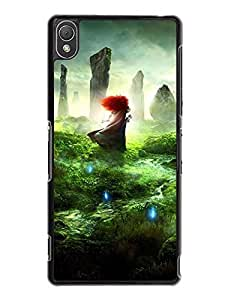 Caitlin J. Ritchie's Shop 8236371M920661173 Sony Xperia Z3 Case, Vogue Brave Series [Non-Slip] Protective Snap On Case for Sony Xperia Z3