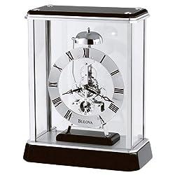 Bulova B2023 Vantage Clock, Black
