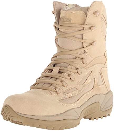 Reebok Work Men's Rapid Response RB8895 Security Friendly ,100% Non metallic  Boot,Desert Tan,9 W US