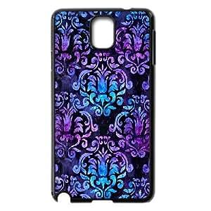 Jumphigh Galaxy Tapestry Samsung Galaxy Note 3 Cases Vintage Blue Purple Galaxy Tapestry, Galaxy Tapestry, {Black}