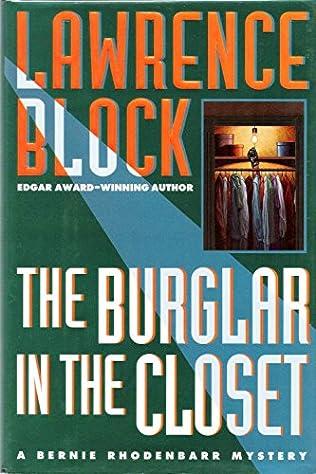 book cover of The Burglar in the Closet