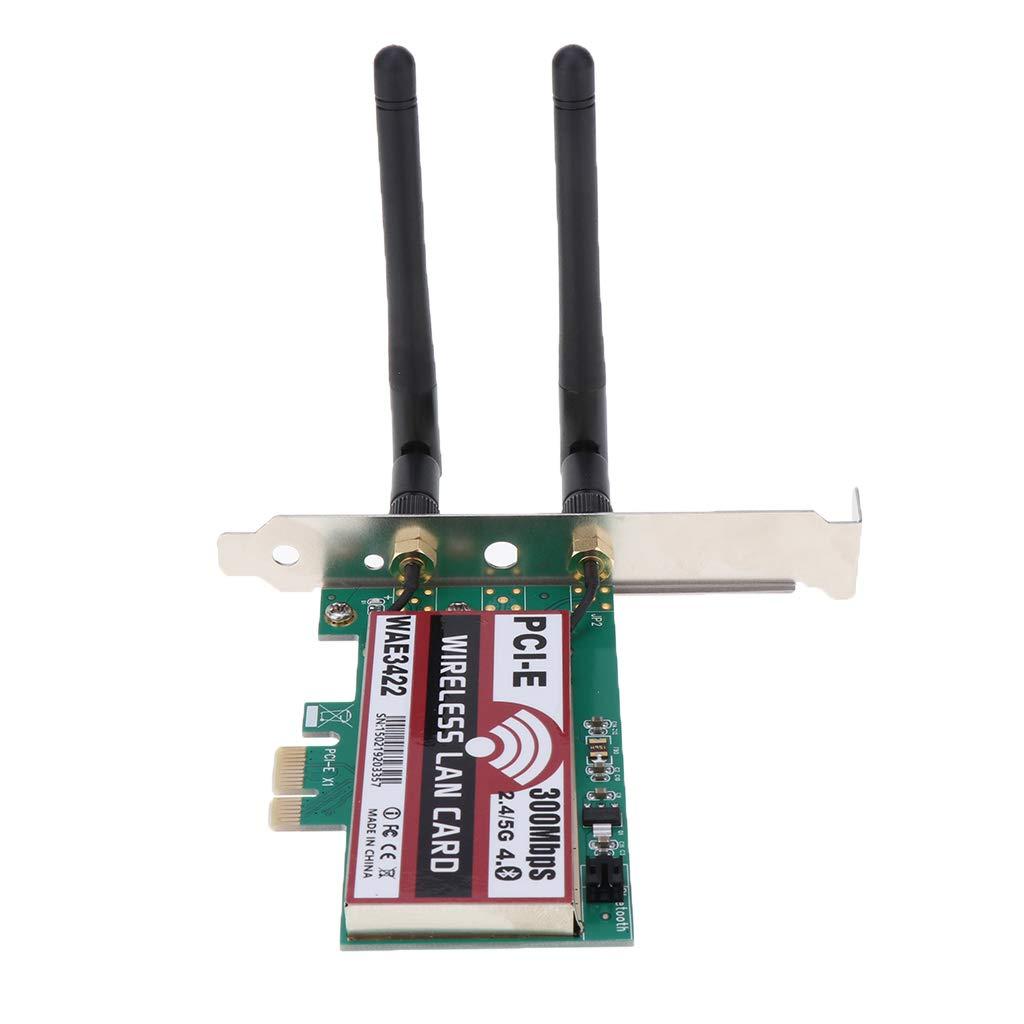 Tarjeta PCI Inalámbrica WiFi USB, Adaptador De Red Bluetooth ...