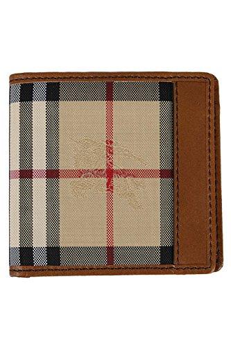 Burberry Hipfold Check Wallet