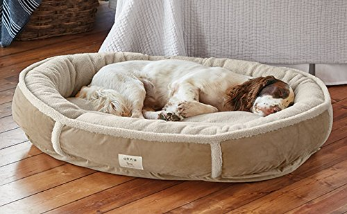 Orvis Wraparound Dog Bed / Small Dogs 15-35 Lbs., Khaki by Orvis