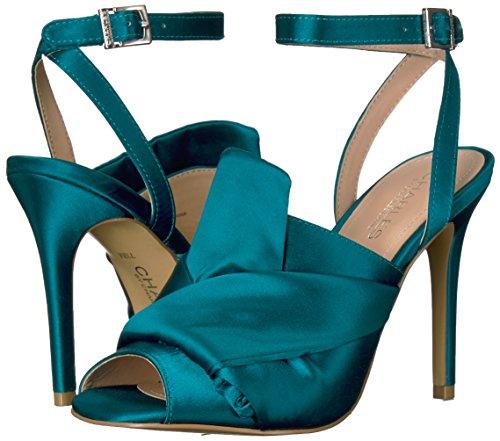 By Femmes Talons Green Charles David À Chaussures EwUdqdpx0