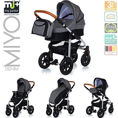 My Junior® Miyo Child Buggy Denim Edition