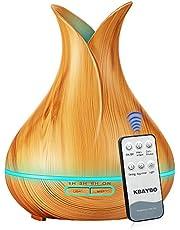 KBAYBO Controllo remoto Diffusore Aromaterapia Aria Umidificatore Ultrasonic Cool Mist 7 LED Impostazione del Timer