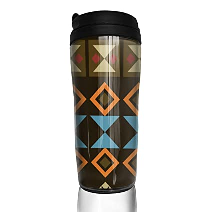 amazon com 13 oz vintage geometric pattern insulated water bottle