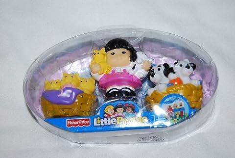 Fisher Price Sonya Lee & Pets Kittens & Puppies Cute (Little People Sonya Lee)