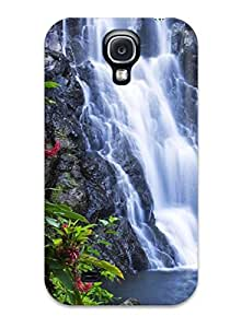 Galaxy S4 Cover Case - Eco-friendly Packaging(earth Waterfall)