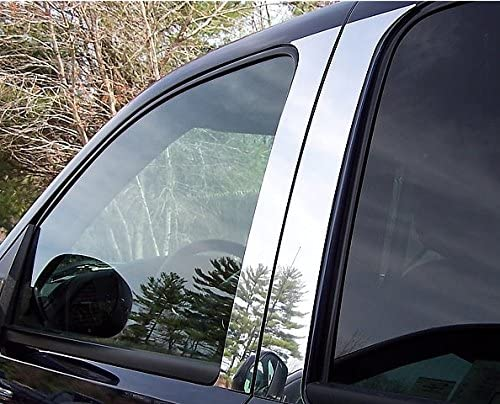 QMI BC1413 Chevy//GMC Long Bed Truck Bed Rail Caps Mirror Polished Stainless Steel Set of 2