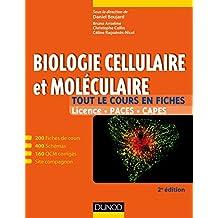 Biologie cellulaire et moléculaire - 2e édition : 200 fiches de cours, 400 schémas, 160 QCM et site compagnon (Tout le cours en fiches) (French Edition)