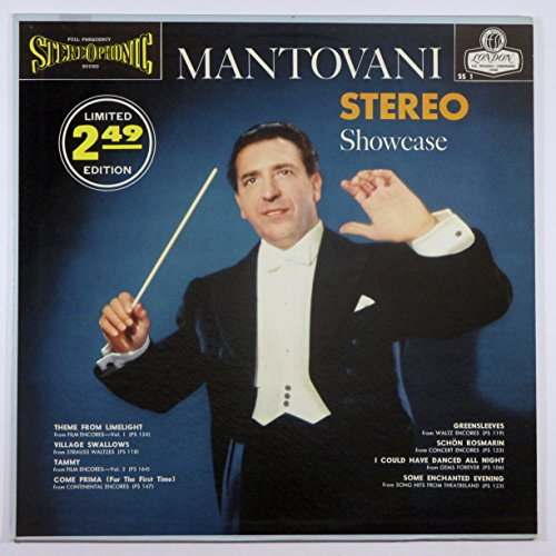 (Mantovani & his Orchestra Stereo Showcase Original London Records (Blue Back) FFSS Stereo release SS 1)