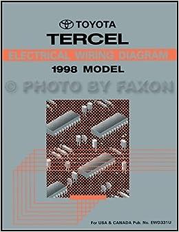 1998 toyota rav4 wiring diagram manual original: toyota: amazon com: books