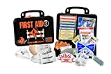 Certified Safety K613-028 18PB Road Standard First Aid Kit, Poly Black