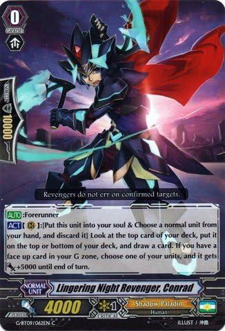 FEROCIOUS ATTACK REVENGER DYLAN CARDFIGHT VANGUARD CARD G-BT09//056EN C