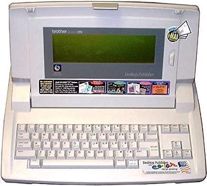 Brother dp-530cj máquina de escribir Plus procesador Desktop Publisher 14 línea pantalla LCD,