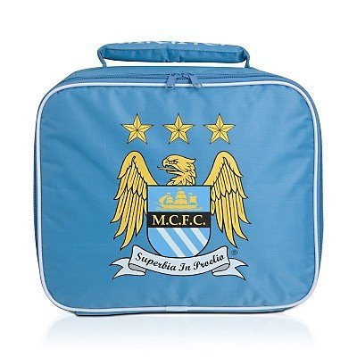 29 Football Card (Ready Steady Bed Football Club Fc Manchester City Kid's Soft Insulated Lunch Bag)