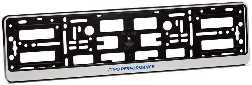 GGR 2/x Ford Performance Surround Cadre Support de Plaque dimmatriculation de Montage Argent