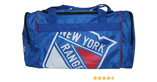 615d115a5d4 Amazon.com   Forever Collectibles NHL New York Rangers Core Duffle Bag    Sports Fan Backpacks   Sports   Outdoors