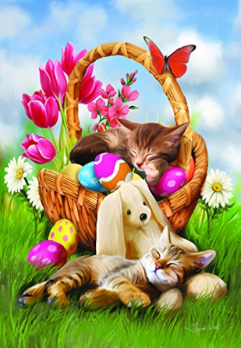 Hard Day with the Easter Bunny 300 pc Jigsaw Puzzle by SunsOut