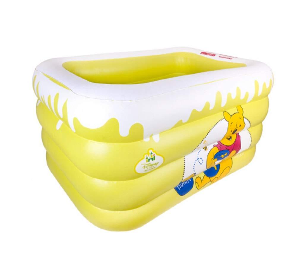 ZMM® Inflatable Bathtub, Baby Swimming Pool Family Insulation Child Inflatable Bathtub Baby Bathtub Bathtub Multifunction Pool 120 * 105 * 75cm by HXJUDT