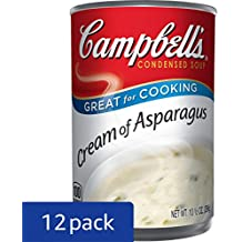 Campbell's Condensed Soup, Cream of Asparagus, 10.5 Ounce (Pack of 12)