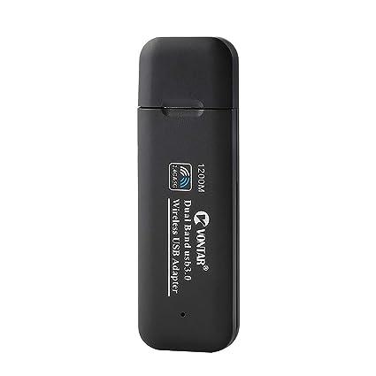 Showyun - Adaptador WiFi USB AC1200Mbps USB 3.0 inalámbrico ...