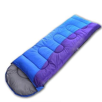 baijuxing Saco de Dormir Invierno Grueso Separado Sucio Impermeable al Aire Libre/Viaje / Campo