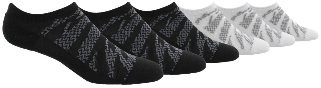 adidas Boys/Youth Tiger Style Cushioned No Show Socks (6 Pack)