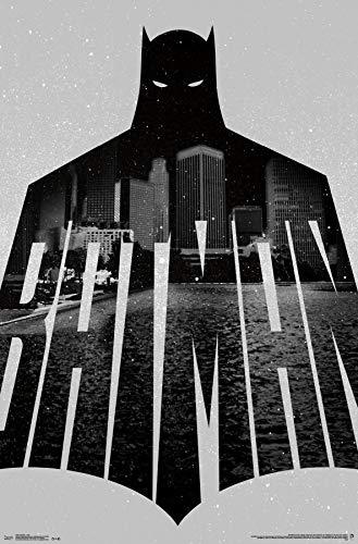 - Trends International Batman-Text Mount Bundle Wall Poster 22.375