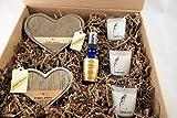 Flaming Hearts Candle Gift Box - 002