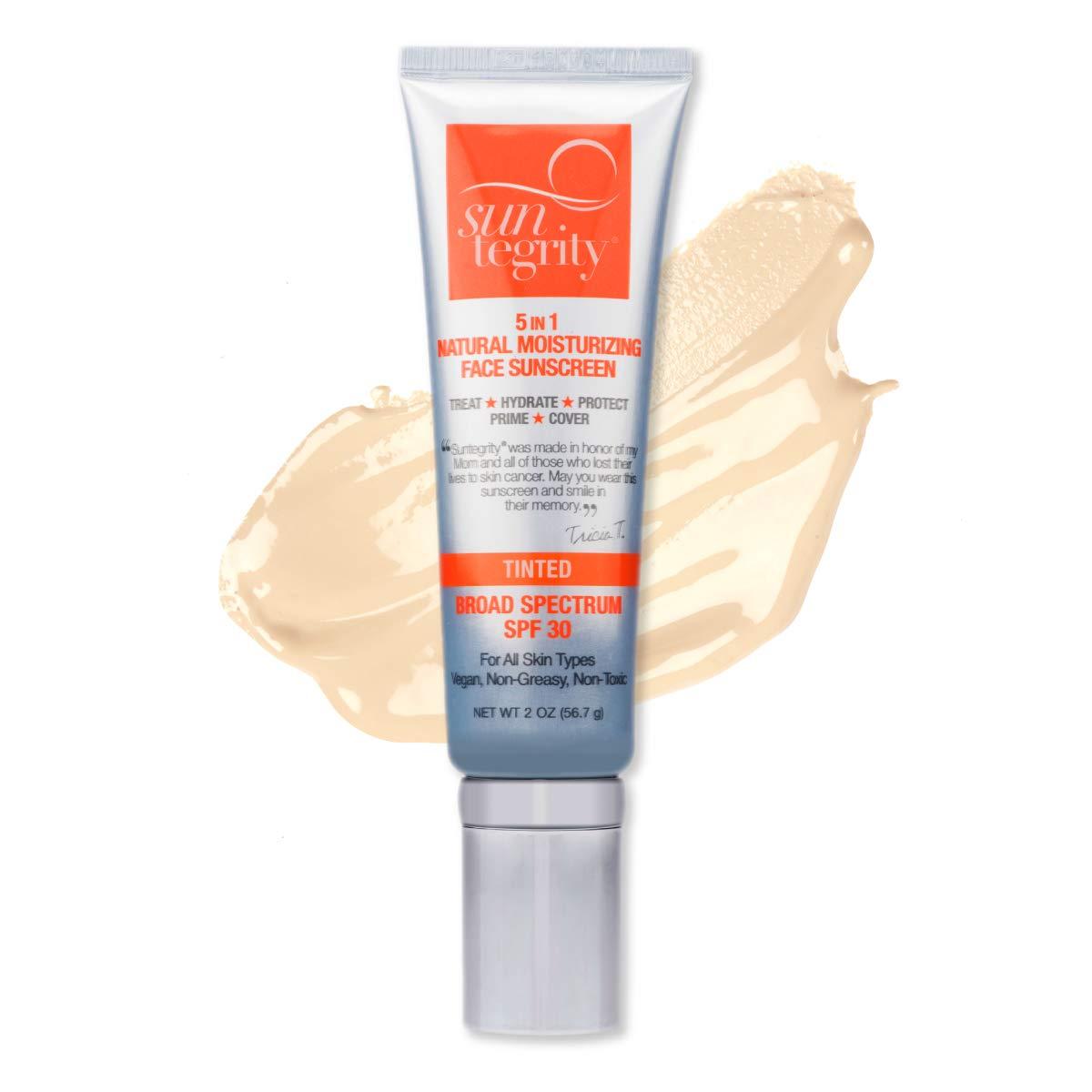 Suntegrity ''5 In 1'' Natural Moisturizing Face Sunscreen, Broad Spectrum Spf 30 - FAIR