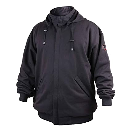 Revco/Black Stallion truguardtm 200 fr algodón negro sudadera con capucha size-med