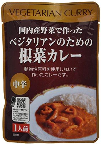 사쿠라이 식품 채식주의자를 위한 근채카레 200g×5개